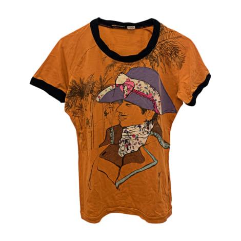 Tee-shirt JOHN GALLIANO Orange