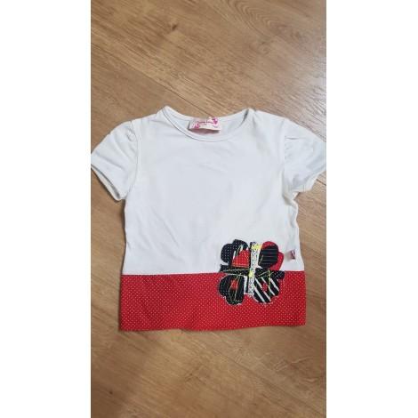 Top, Tee-shirt CHRISTIAN LACROIX Blanc, blanc cassé, écru