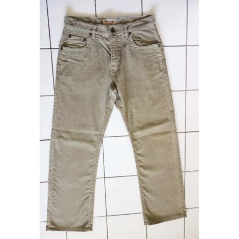 Jeans droit CHEVIGNON Kaki