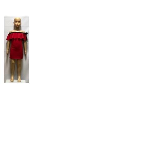 Robe CHICAPRIE Rouge, bordeaux