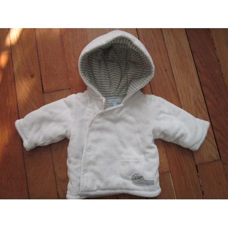Manteau TEX BABY Blanc, blanc cassé, écru