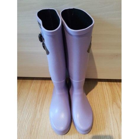 Bottes de pluie AIGLE Violet, mauve, lavande