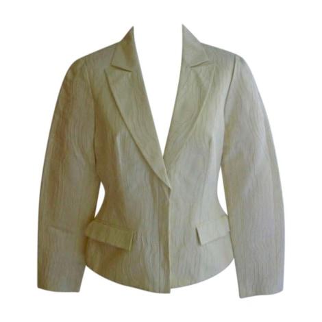 Blazer, veste tailleur THIERRY MUGLER Jaune