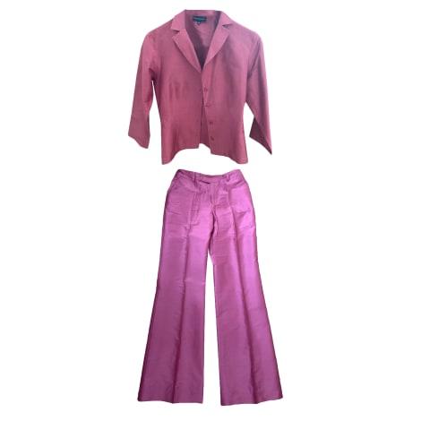 Tailleur pantalon TARA JARMON Rose, fuschia, vieux rose