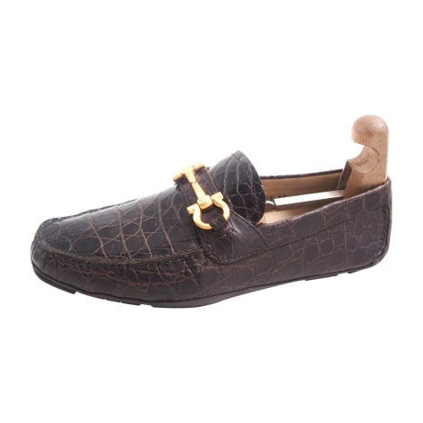 Mocassins SALVATORE FERRAGAMO Marron