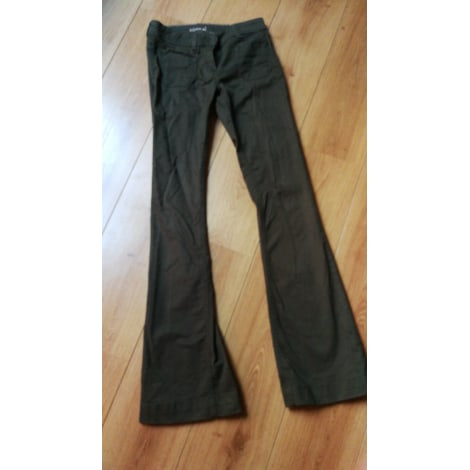 Pantalon évasé KOOKAI Vert