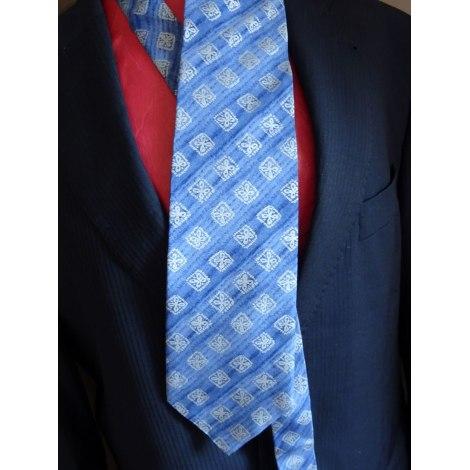 Cravate TED LAPIDUS Bleu, bleu marine, bleu turquoise