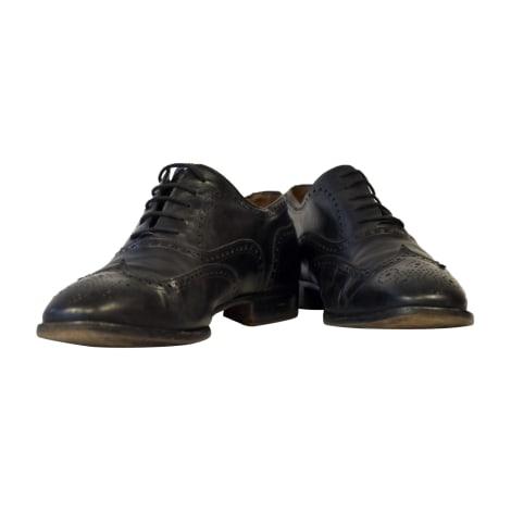 Chaussures à lacets FRATELLI ROSSETTI Noir