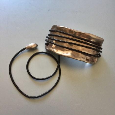 Bracelet UNO DE 50 Argenté, acier