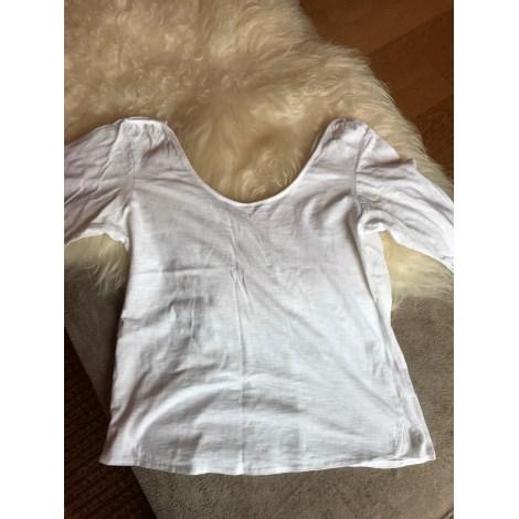 Top, tee-shirt VICTOR B Blanc, blanc cassé, écru