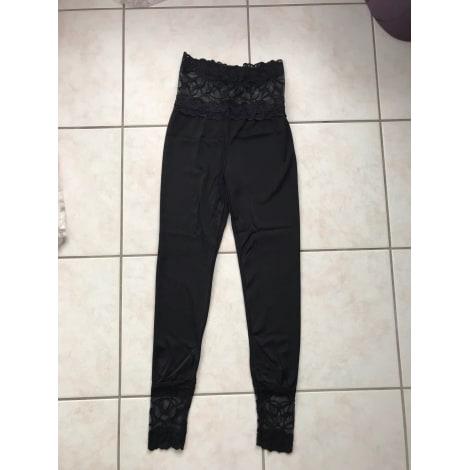 Pantalon droit GIOVANNI Noir