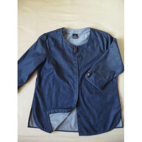Blouse MADELEINE Bleu, bleu marine, bleu turquoise