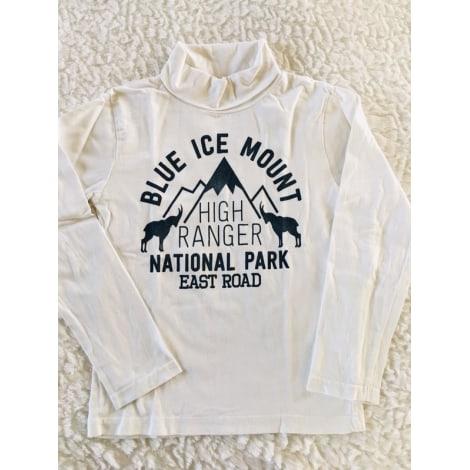Tee-shirt GÉMO Blanc, blanc cassé, écru