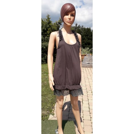 Robe tunique MOLLY BRACKEN Marron