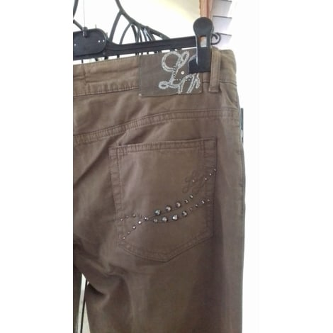 Pantalon droit LIU JO Marron