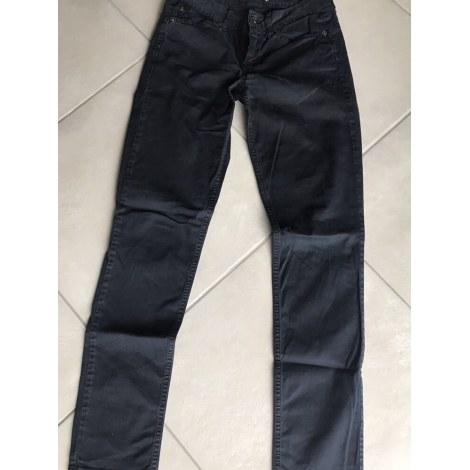 Pantalon droit LIU JO Bleu, bleu marine, bleu turquoise