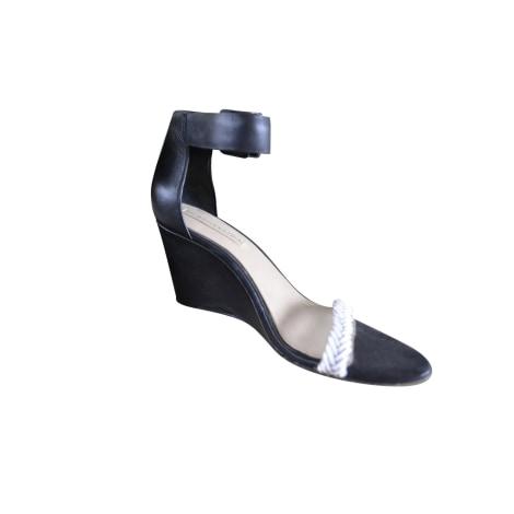 Sandales compensées BCBG MAX AZRIA Noir
