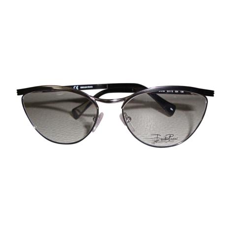 Monture de lunettes EMILIO PUCCI Argenté, acier