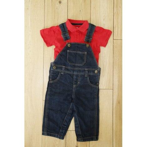Ensemble & Combinaison pantalon BOUT'CHOU Rouge, bordeaux