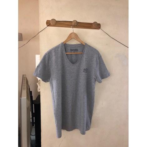 Tee-shirt KAPORAL Gris, anthracite