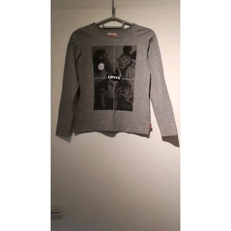 Top, Tee-shirt LEVI'S Gris, anthracite