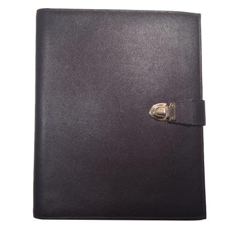 Porte document, serviette LE TANNEUR Marron