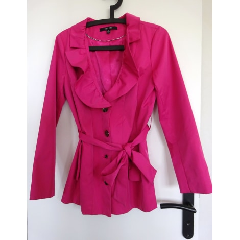 Imperméable, trench SANDRO Rose, fuschia, vieux rose