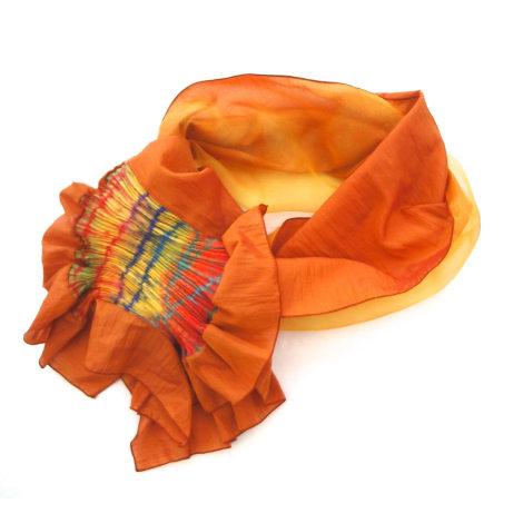Echarpe GANTEB'S Orange