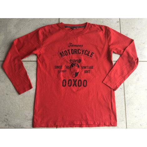Tee-shirt OOXOO Rouge, bordeaux