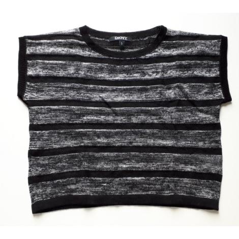 Top, Tee-shirt DKNY Argenté, acier
