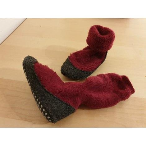 Ciabatte, pantofole FALKE Rosso, bordeaux