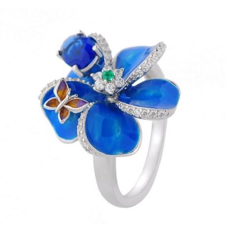 Bague BAGUE À PART Bleu, bleu marine, bleu turquoise