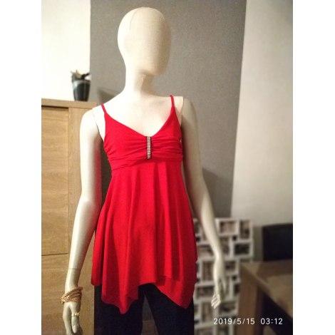 Top, tee-shirt MIEL PARIS Rouge, bordeaux