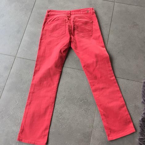Pantalon droit BERENICE Corail