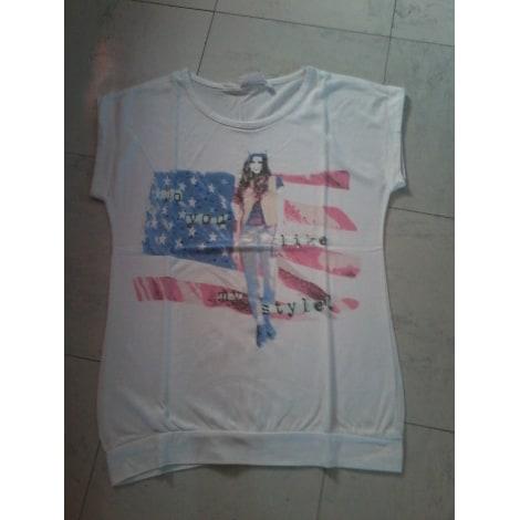 Top, Tee-shirt CECILIA CLASSICS Blanc, blanc cassé, écru