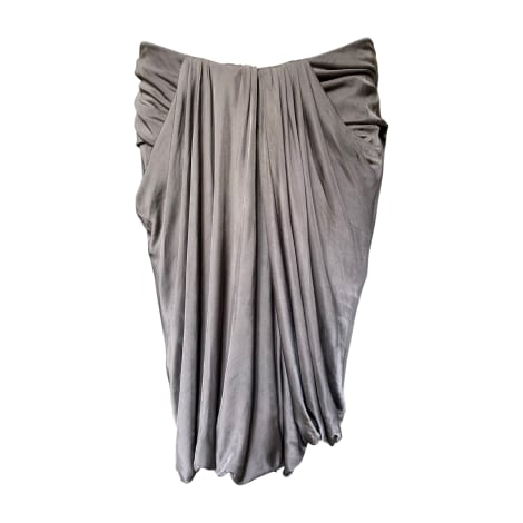 Jupe courte VERSACE Gris, anthracite