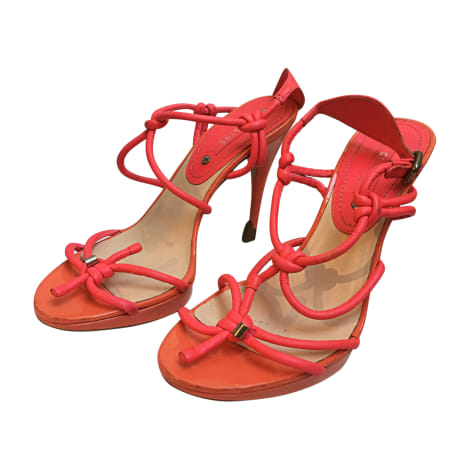 Sandales à talons CÉLINE Rose, fuschia, vieux rose