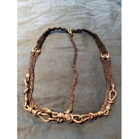 Bijoux de tête MAISON MICHEL Argenté, acier