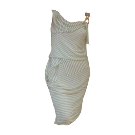 Tailleur robe LOUIS VUITTON Blanc, blanc cassé, écru