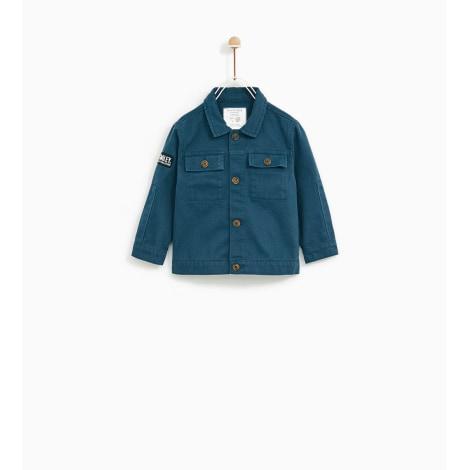 Veste ZARA Bleu, bleu marine, bleu turquoise