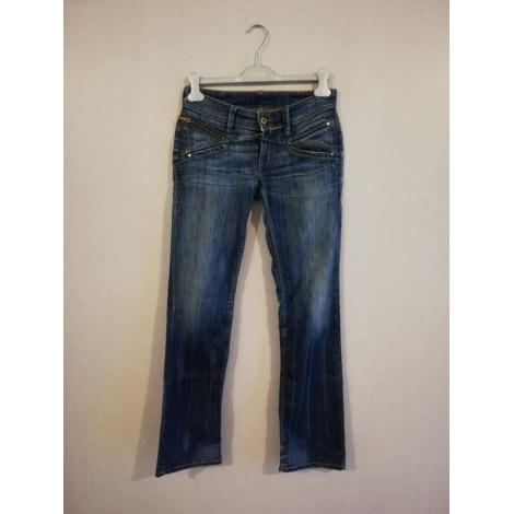 Jeans évasé, boot-cut LEVI'S Bleu, bleu marine, bleu turquoise