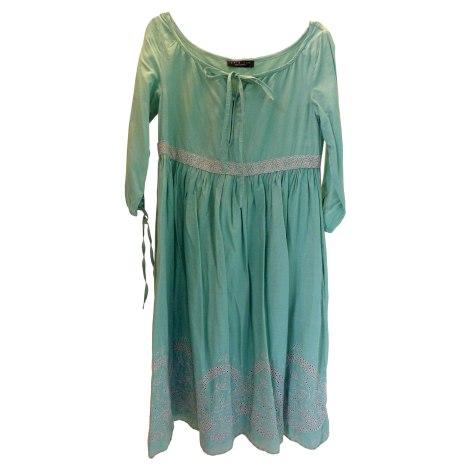 Robe mi-longue TWIN-SET SIMONA BARBIERI Turquoise