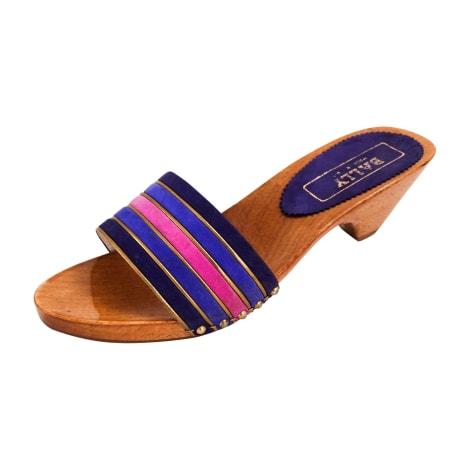 Sandales à talons BALLY Multicouleur