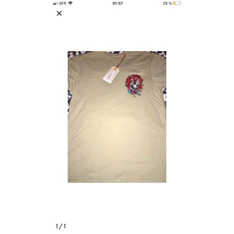 Tee-shirt CHRISTIAN AUDIGIER Beige, camel