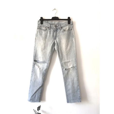 Jeans large, boyfriend LEVI'S Bleu très clair