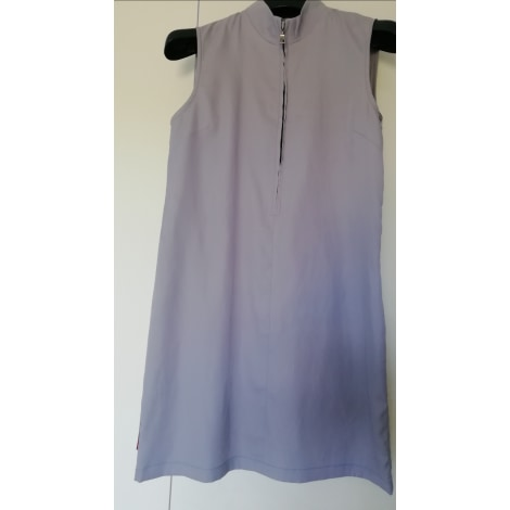 Robe courte PRADA Gris, anthracite