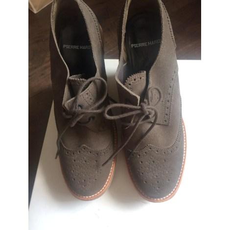 Chaussures à lacets  PIERRE HARDY Kaki