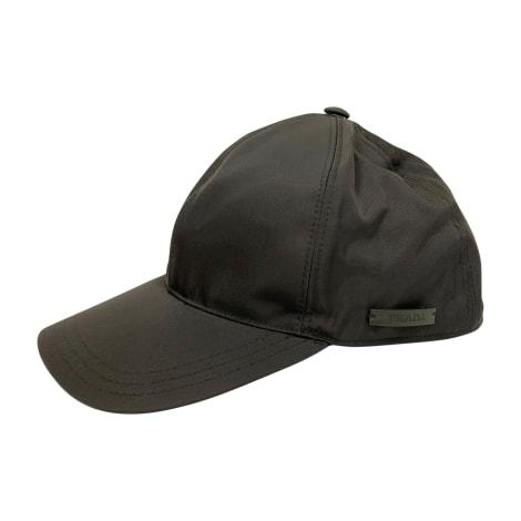 Bonnet PRADA Noir