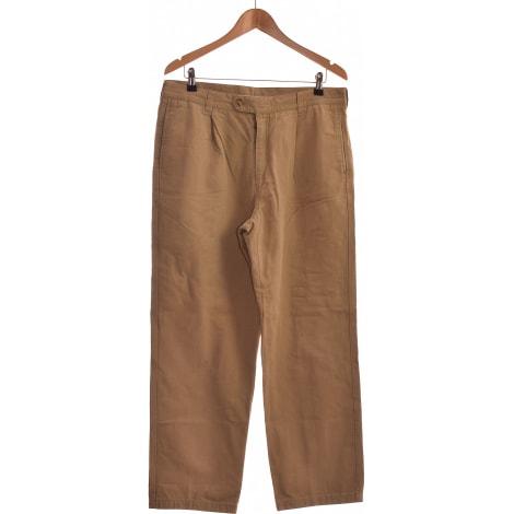 Pantalon droit DEVRED Vert