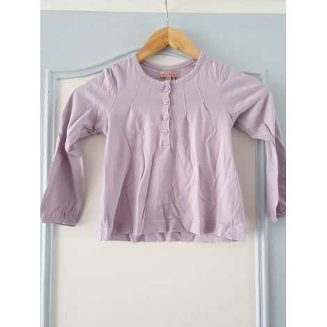 Top, Tee-shirt LISA ROSE Violet, mauve, lavande